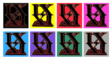 IX XI Eight Prints
