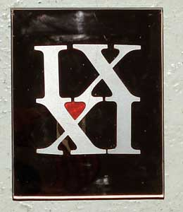 IX XI METAL WITH HEMOGLOBUL HEART